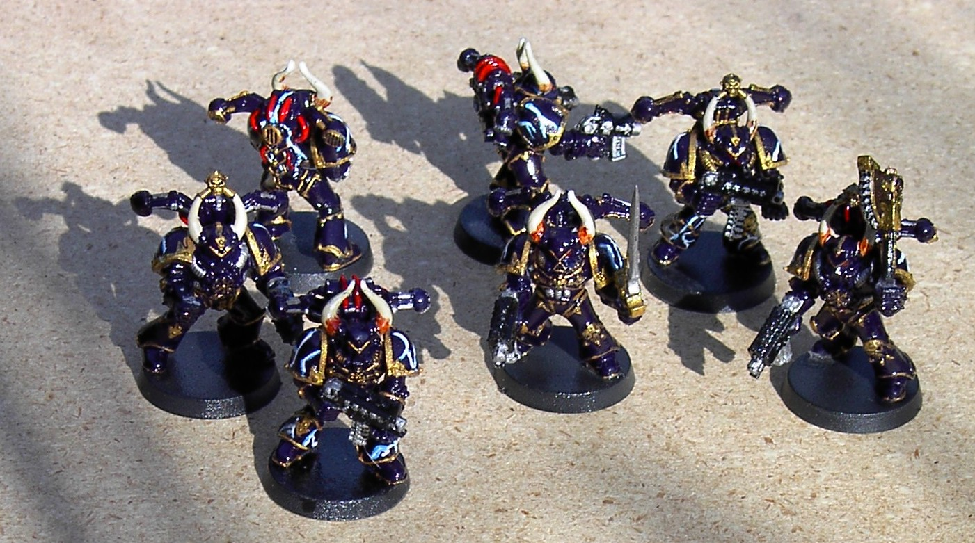 chaos space marines looks